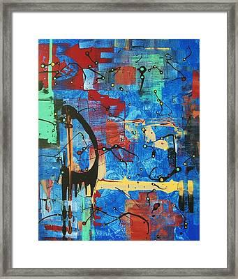 Norval Morrisseau On My Mind Framed Print