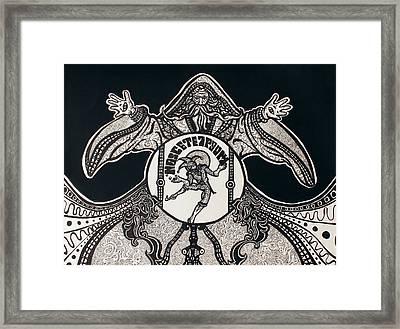 Nosce Te Ipsum Framed Print