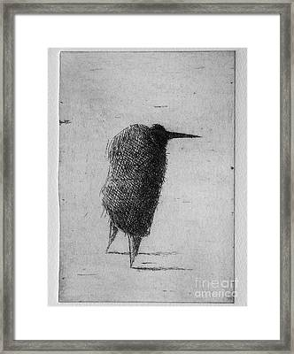 Nose Framed Print by Valdas Misevicius