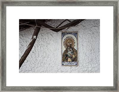 Nostra Senora Framed Print by Agnieszka Kubica