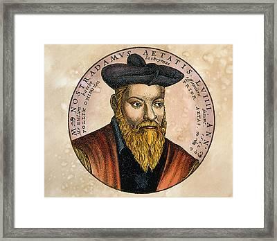 Nostradamus Framed Print by Detlev Van Ravenswaay