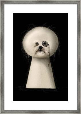 Not A Keyhole Framed Print by Zdralea Ioana