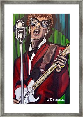 Not Fade Away-buddy Holly Framed Print