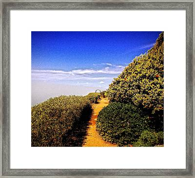 Not Far Now Framed Print by Brian D Meredith