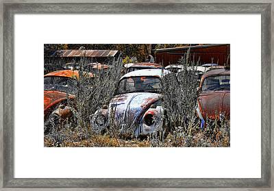 Not Herbie The Love Bug Framed Print