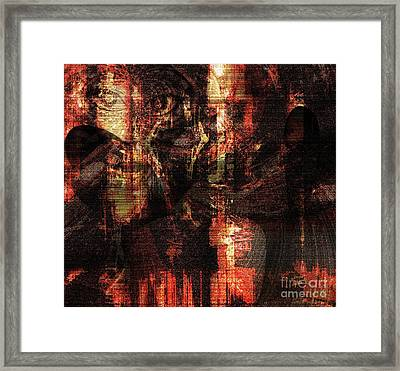 Not In Another World Framed Print