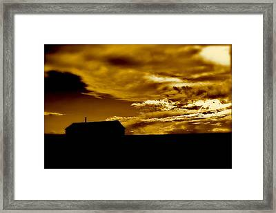 Not In Kansas Anymore Framed Print by David  Hubbs