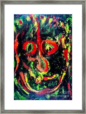 Not Just Another Pretty Face Framed Print by Bill Davis