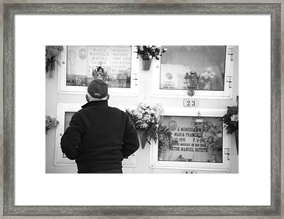 Not Just My Wife My Best Friend Framed Print by Jez C Self