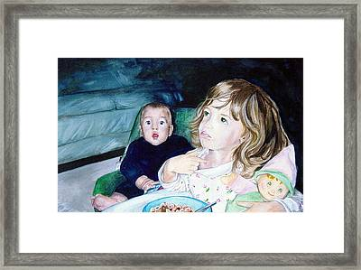 Not Me Framed Print by Ann Marie Napoli