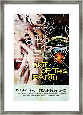Not Of This Earth, Beverly Garland Framed Print by Everett