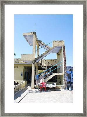 Not Quite A House Framed Print