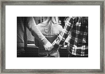 Not So Simple Framed Print by MaryJane Armstrong