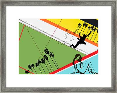 Not Tamed Framed Print by Naxart Studio
