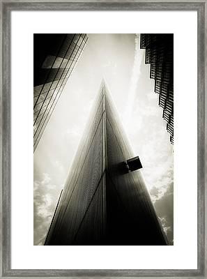 Not The Shard Framed Print by Lenny Carter