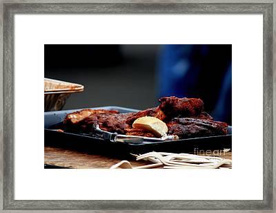 Not Vegan Framed Print by Allen Sindlinger