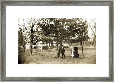 Not Waiting For The Bus Framed Print by Jan W Faul