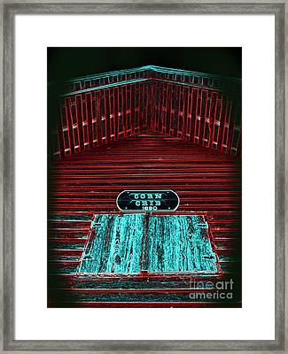 Not Your Average Crib Framed Print by Crystal June Norton
