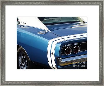 Nothing But The Tail Lights Framed Print by Chad Thompson