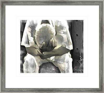 Nothing Changes Framed Print by Bob Salo