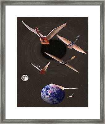 Nothing Else Matters But Rock Framed Print by Eric Kempson