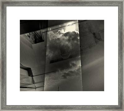 Notinsight Framed Print by Michele Mule'