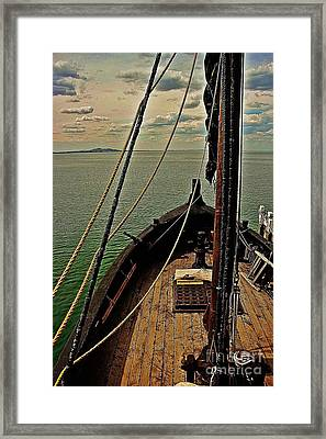 Notorious The Pirate Ship 6 Framed Print