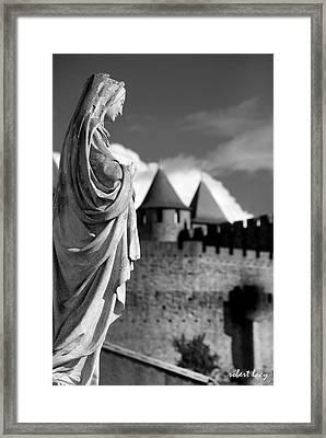 Notre Dame Carcassonne Framed Print