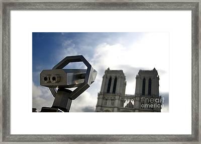 Notre Dame De Paris. France Framed Print