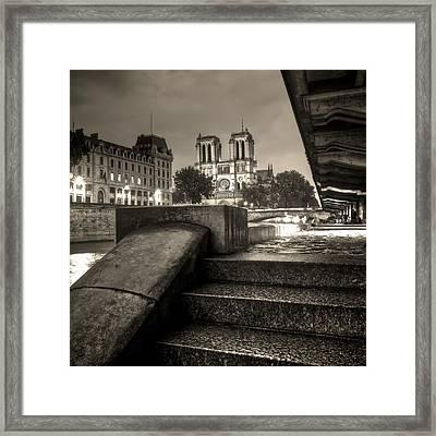 Notre-dame De Paris Framed Print by Matthieu Godon