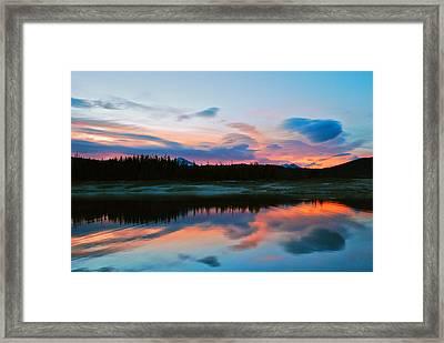 November Sunrise Framed Print