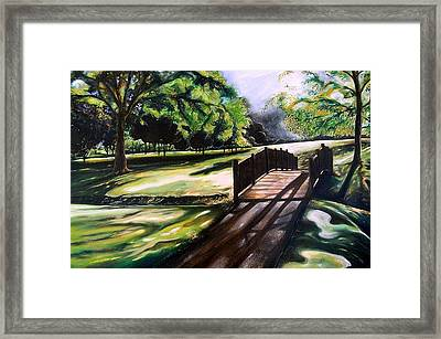 now Framed Print by Emery Franklin