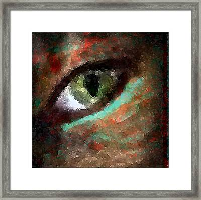 Now I See Framed Print by Paula Greenlee