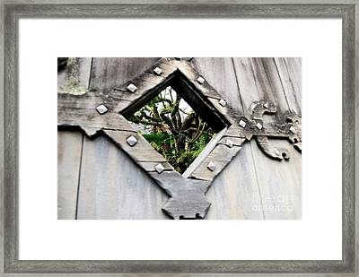 Now You Know Framed Print