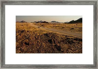 Nowhere Framed Print by Alistair Lyne