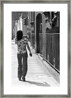 Nowhere To Go Framed Print by Tim Graham