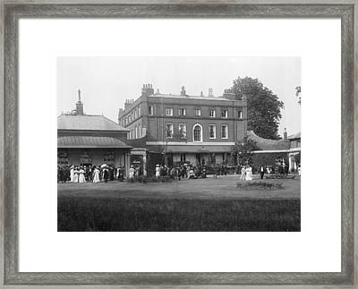 Npl Headquarters, 1906 Framed Print by National Physical Laboratory (c) Crown Copyright