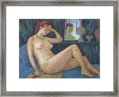 Nu 20 Framed Print by Leonid Petrushin