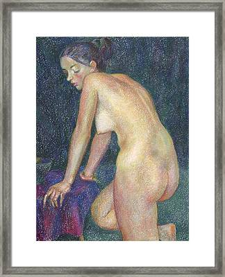 Nu 23 Framed Print by Leonid Petrushin
