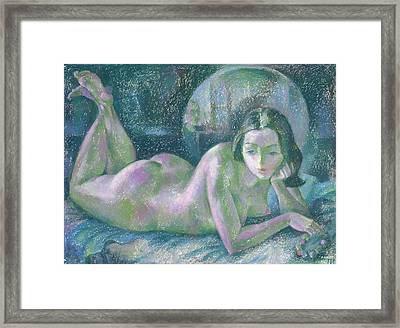 Nu 26 Framed Print by Leonid Petrushin