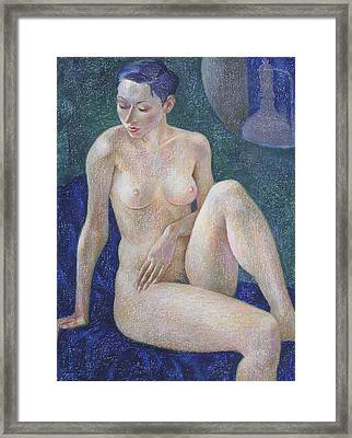 Nu 29 Framed Print by Leonid Petrushin