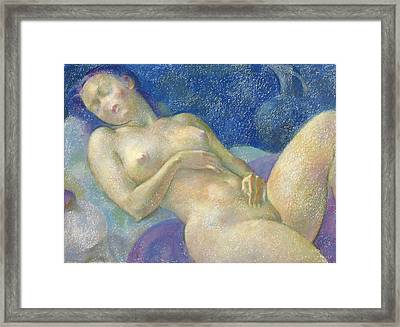 Nu 46 Framed Print by Leonid Petrushin