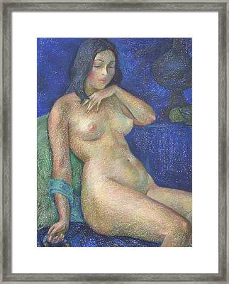 Nu 68 Framed Print by Leonid Petrushin