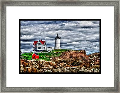 Nuble Light Creation Framed Print