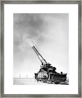 Nuclear Artillery, 1950s Framed Print by Granger