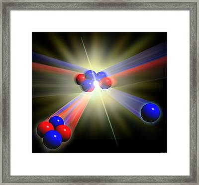 Nuclear Fusion Framed Print by Seymour