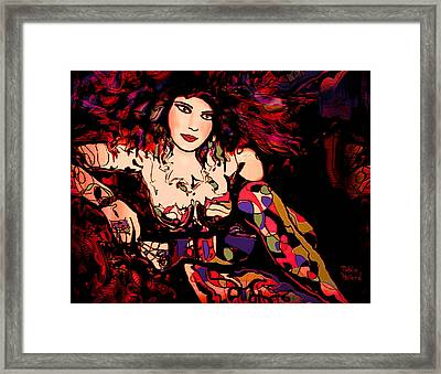 Nude 11 Framed Print by Natalie Holland