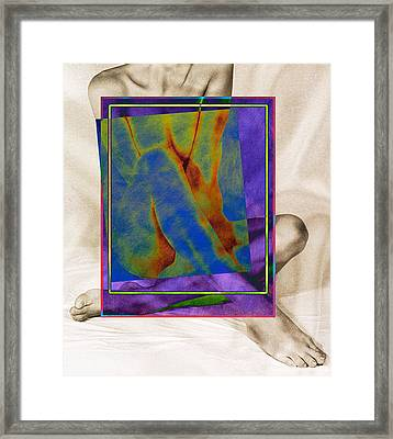 Nude 3 Framed Print by Mauro Celotti