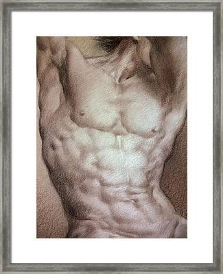 Nude 9 B Framed Print by Valeriy Mavlo