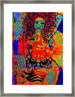 Nude Goddess Framed Print by Natalie Holland